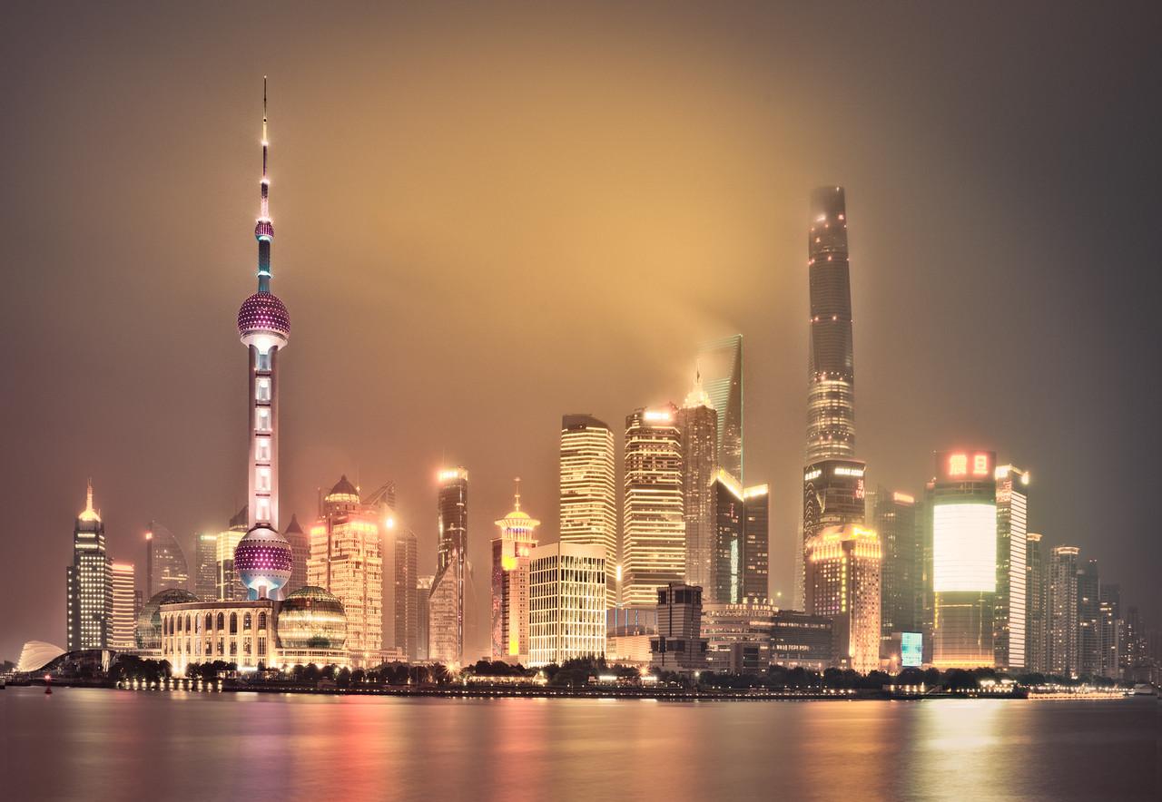 Shanghai,China,Cityscape