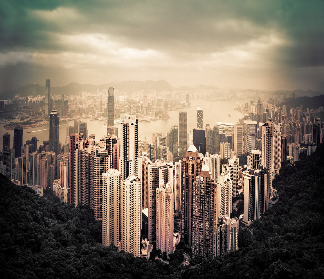 Hong Kong, Victoria's Peak, City, travel, explore