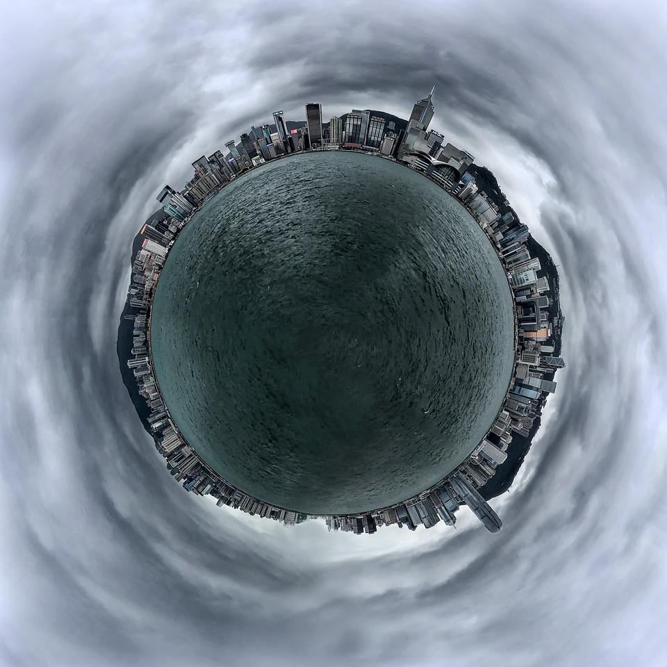 Hong Kong, Tiny Planets,City, travel, explore