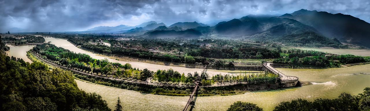 dam, travel, explore, china