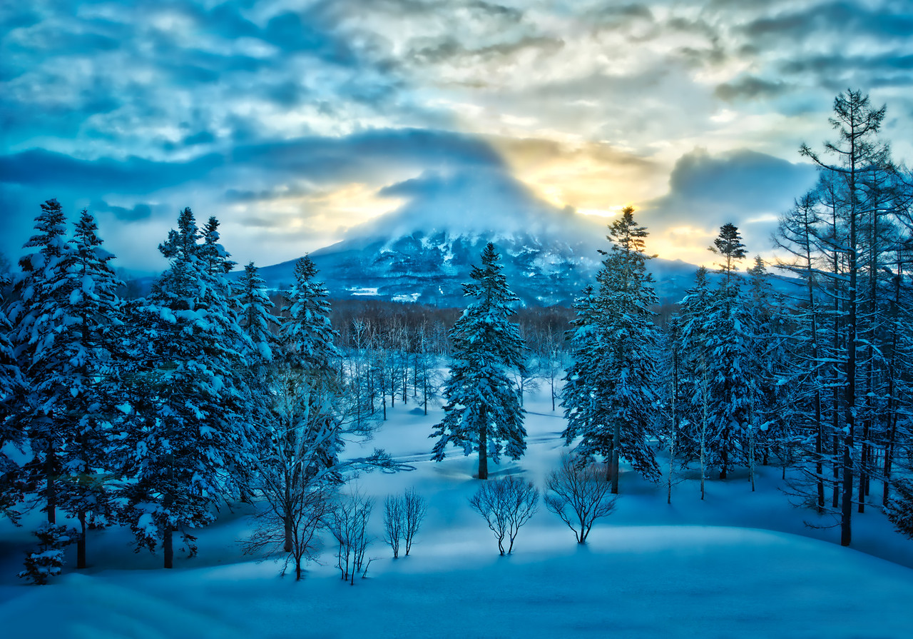 Mt Yotai, Hokkaido,Japan,ski,travel,explore