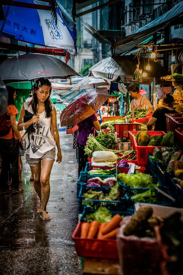 Hong Kong, Street Market, City, travel, explore